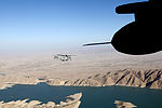 A U.S. Marine Corps CH-53E Super Stallion helicopter assigned to Marine Heavy Helicopter Squadron (HMH) 462 flies over Helmand province, Afghanistan, Oct. 7, 2013 131007-M-SA716-026.jpg