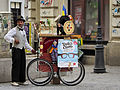A picturesque fortune teller on Lipscani street.jpg