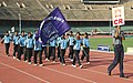 A team of Central Railways Athletes marching at the Opening Ceremony of the 72nd All India Railway Athletics Championship-2006, in New Delhi on September 05, 2006.jpg