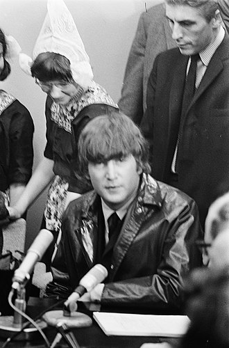 More popular than Jesus - Lennon at a press conference, June 1964