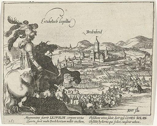 Aartshertog Leopold ontzet Breitenbend, 1610, RP-P-OB-80.617