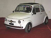 Abarth 695, derived from Fiat 500