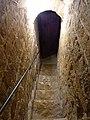 Abbatiale de Romainmôtier - couloir pour la chapelle Saint Michel.jpg