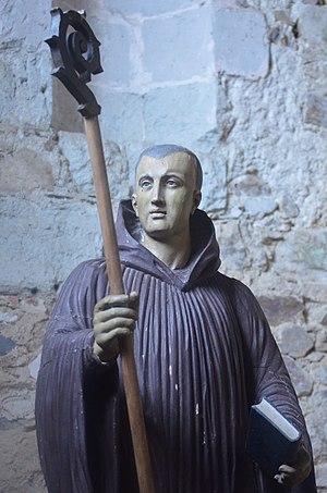 Philibert of Jumièges - Statue of Saint Philibert.