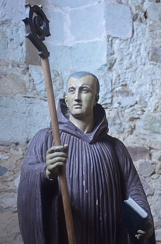 Philibert of Jumièges - Statue of Saint Philibert.