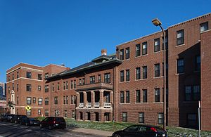 National Register of Historic Places listings in Hennepin County, Minnesota - Image: Abbott Hospital