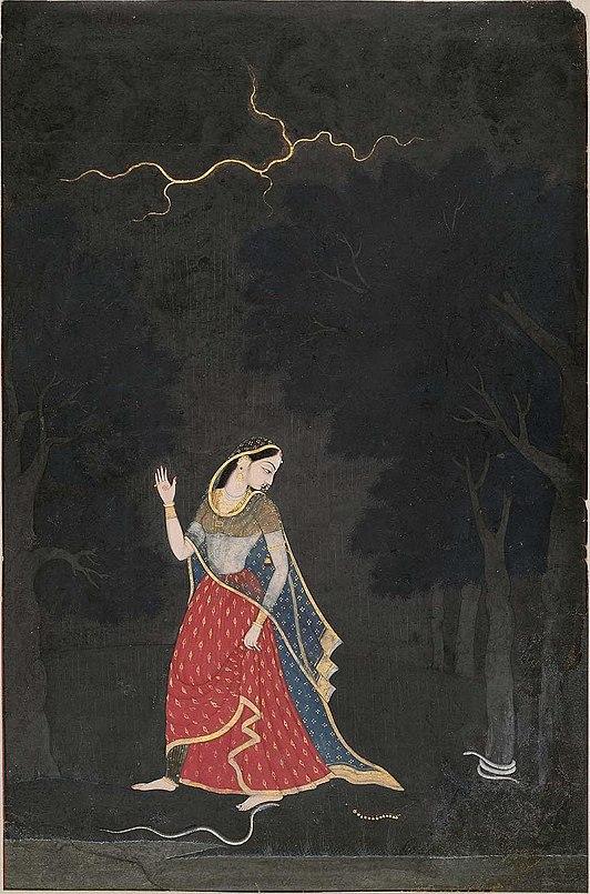 Abhisarika-nayika-mola-ram