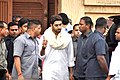 Abhishek Bachchan visits Rajesh Khanna's home Aashirwad 05.jpg
