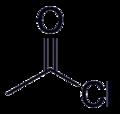 Acetyl chloride-2D-Skeletal.png