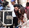 Actor Sonam Bajwa with Producer Pawan Gill.jpg