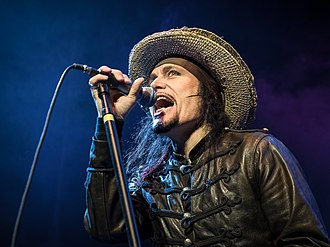 Adam Ant - Adam Ant at The Masonic Theater in San Francisco 2017. Photo: Aaron Rubin