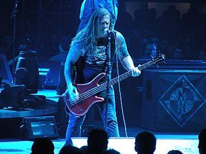 Adam Duce - Adam Duce with Machine Head at Rotterdam, 2009