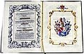Adelsdiplom - Oppenauer von Oppenau 1853.jpg