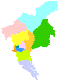 Zengcheng District District in Guangdong, Peoples Republic of China