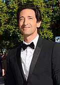 Photo of Adrien Brody at the Cannes Film Festival in 2014.