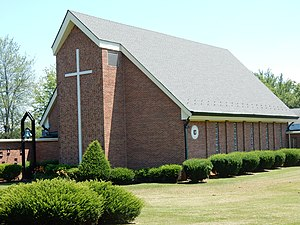 Hanover Township, Northampton County, Pennsylvania - Image: Advent Moravian Church, Hanover Twp, Northampton Co PA