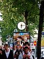 Advertising Clock of Stjärn Urmakarna Watch Shop in Stockholm Sweden (6103550824).jpg