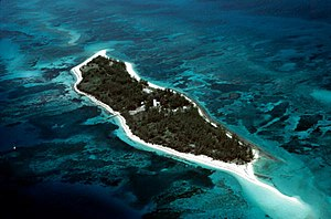 Loggerhead Key - An aerial view of Loggerhead Key, Dry Tortugas