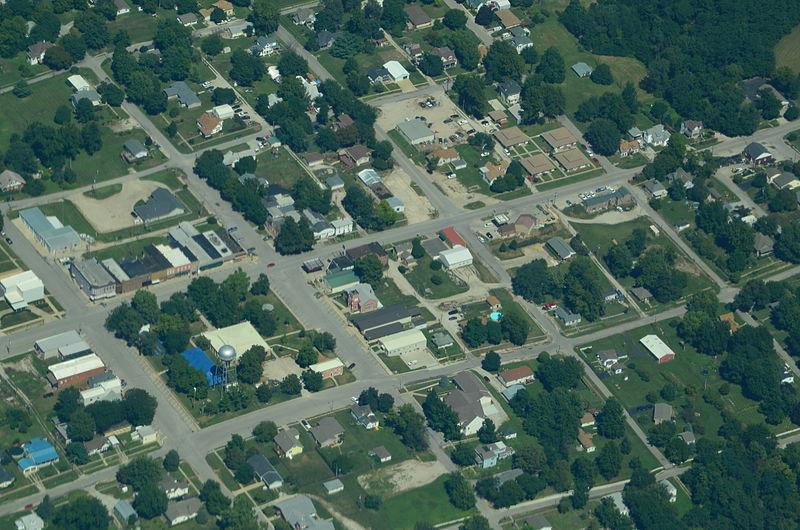File:Aerial view of Oregon, Missouri 9-2-2013.JPG