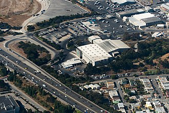 Recology - Aerial view of Recology San Francisco, Recology's dump/transfer station.