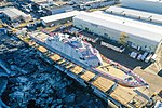 Aerial view of USS St. Louis (LCS-19) before its christening at Marinette Marine, Wisconsin (USA), on 15 December 2018 (181215-N-N0101-115).JPG