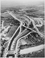 Aerial view of a complex of Long Island highways that provide access to New York City, ca. 1946 - NARA - 518064.tif