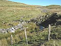 Afon Bowydd immediately above the leat diversion point - geograph.org.uk - 623282.jpg
