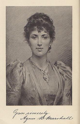 Agnes Marshall - Agnes Bertha Marshall