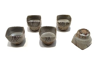 Karatsu ware - Image: Aichi Prefectural Ceramic Museum (36)
