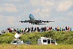 Air Force One taking off at Warsaw Frederic Chopin Airport.jpg