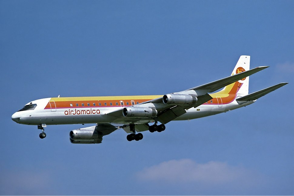 Air Jamaica McDonnell Douglas DC-8-62H Fitzgerald