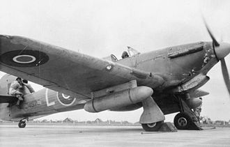 Pakistan Air Force Academy - Hawker Hurricane of No. 2 Squadron RIAF at Risalpur before moving to Eastern India for training in support of the Chindits