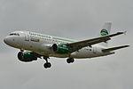 Airbus A319-100 Germania (GMI) D-ASTY - MSN 3407 - WheelTug driving aerospace (9880997053).jpg