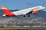 Airbus A320-214 'EC-MCB' Iberia Express (25016958252).jpg