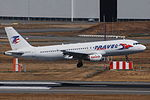 Airbus A320 (Travel Svc) YL-LCE (10777198156).jpg