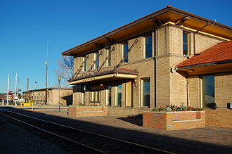 Alamosa, Colorado - Train station in Alamosa