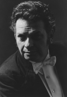 Albert Rosen Czech conductor