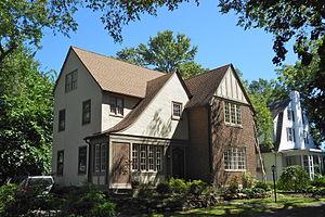 Henry Albertson Subdivision Historic District - Image: Albertson 6 Balfour Del Co PA