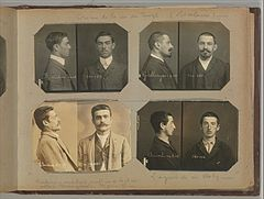 Album of Paris Crime Scenes - Attributed to Alphonse Bertillon. DP263816.jpg