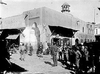 Al-Jdayde - Al-Jdayde, district of Aleppo as seen in 1920