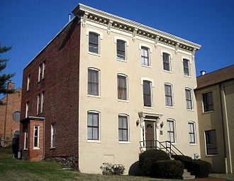 Asaph Hall - Hall's former home in the Georgetown neighborhood of Washington, D.C.