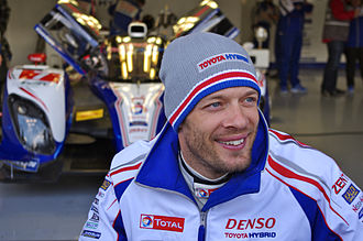 Alexander Wurz - Wurz at the 2013 6 Hours of Silverstone