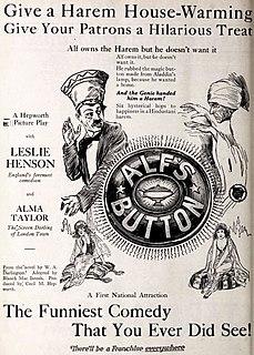 <i>Alfs Button</i> (1920 film) 1920 film by Cecil Hepworth