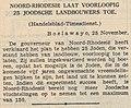 Algemeen Handelsblad vol 111 no 36579 Noord-Rhodesië laat voorloopig 25 Joodsche landbouwers toe.jpg