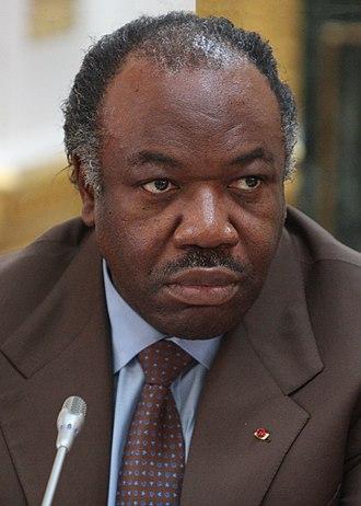 Gabonese presidential election, 2016 - Image: Ali Bongo Ondimba, 2012