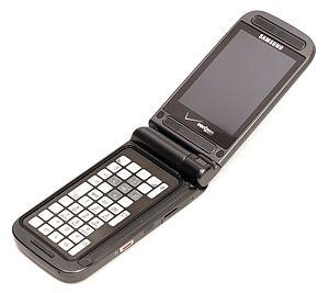 Samsung SCH-U750 - The phone in call mode