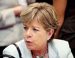 Alicia Bárcena Ibarra - Image: Alicia Bárcena Ibarra, World Economic Forum on Latin America 2009 2