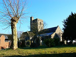All Cannings - View of All Cannings Church
