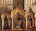 Allegretto nuzi, madonna col bambino, angeli e santi tra i ss. antonio abate e giuliano, 1369, 02.jpg