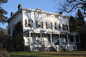 Allen-Beville House - The Allen-Beville house is one of the few surviving 19th century farmhouses in Queens.